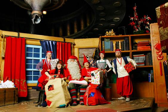 Santa Claus Office, Rovaniemi (FI), Bildnachweis: http://www.santaclausvillage.info