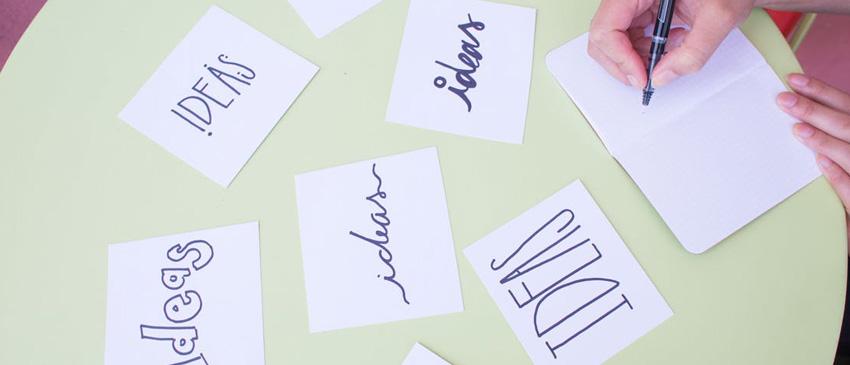 Ideenfindung beim Design Thinking